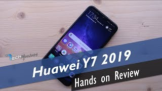 Huawei Y7 2019 Hands on Review [Greek]