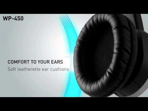Creative WP-450 Wireless Bluetooth headphones with mic