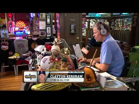 Clayton Kershaw on The Dan Patrick Show 7/19/13