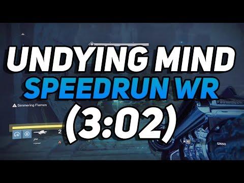 Destiny - The Undying Mind Speedrun World Record! (3:02)