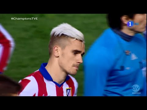 Antoine Griezmann vs Bayer 04 Leverkusen 14-15 Home By CROSE