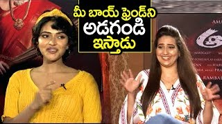 Actress Amala Paul Funny Satirical Counter To Anchor Manjusha | aame movie trailer | Filmylooks
