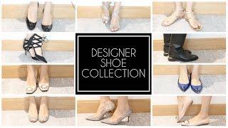 DESIGNER SHOE COLLECTION | Dior, LV, Aquazurra, Louboutin, Jimmy Choo, Ferragamo, Roger Vivier