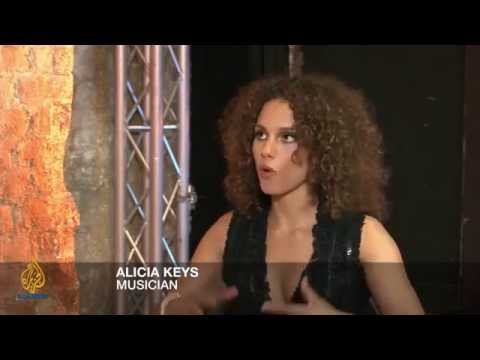 Frost Over the World - Alicia Keys and the AIDS cause