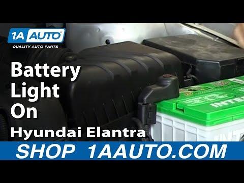 Why Is my Battery Light On? Alternator Fuse 2001-06 Hyundai Elantra