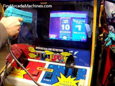point blank arcade machine