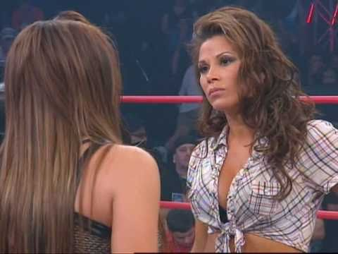 Madison Rayne confronts Mickie James