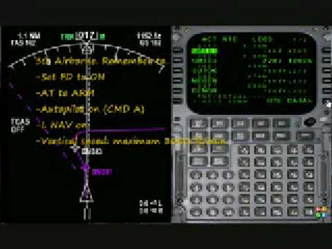 Wilco 737 - FMC - Preflight and departure tutorial