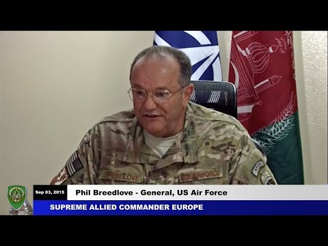 SACEUR comments on the Afghan National Defence and Security Forces