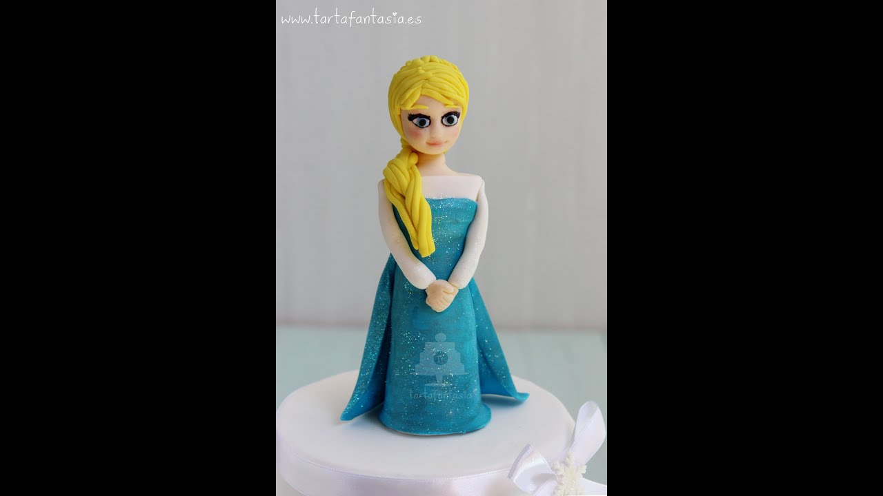 Paso a Paso Elsa de Frozen con Pasta de Goma. Primera Parte. - Все популярные мультфильмы на одном сайте megamultiki.ru