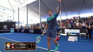 Milos Raonic vs Aljaz Bedene match highlights (1R) | Brisbane International 2019