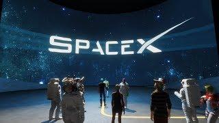 NASA Apollo Space Museum in Sansar - Falcon 9 Rocket Launch