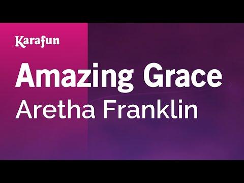 Karaoke Amazing Grace - Aretha Franklin * video