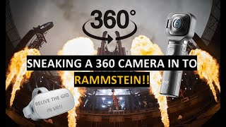 Rammstein 360° - Sonne Live! - Shot with Vuze XR