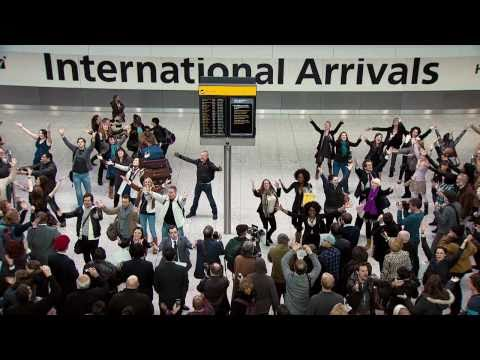 Best Online Video Ad Campaign: T Mobile's Heathrow Airport Flash Mob
