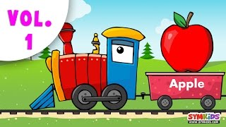 Learning Train Collection | Fruits and Other Collection|14 minutes Compilation