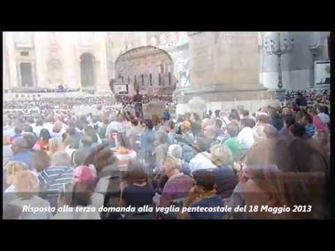 Risposta alla 3° domanda alla Veglia Pentecostale del 18 Maggio 2013 – Papa Francesco
