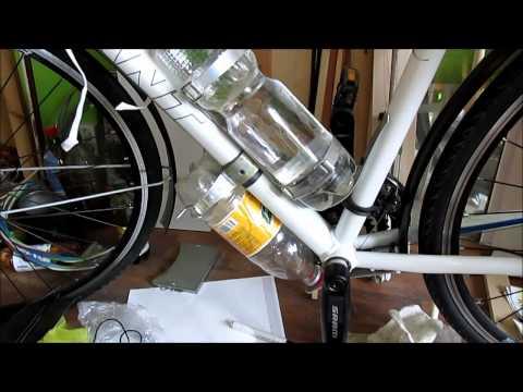 Крепление бутылки на велосипед своими руками