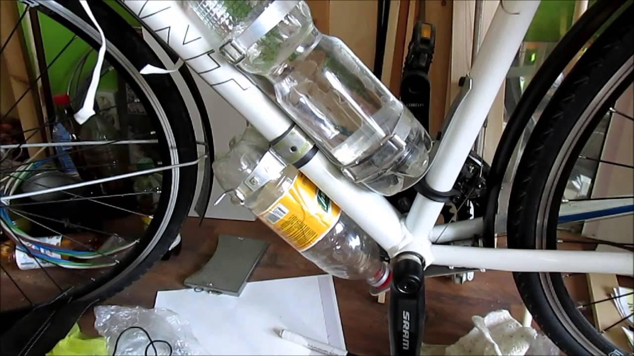 Крепление для бутылки на велосипед своими руками