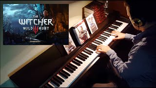 The Witcher 3 - Main menu (Geralt of Rivia)piano cover