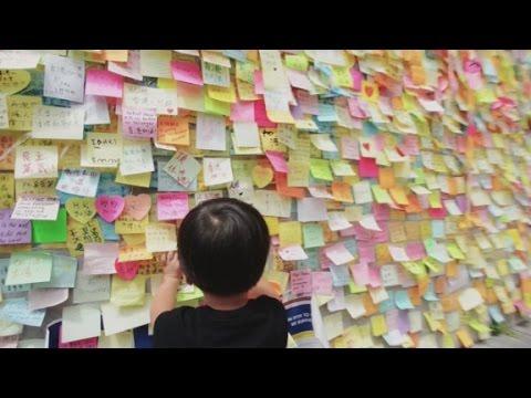 Hong Kong's artistic protests