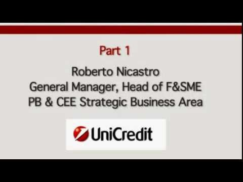 Roberto Nicastro, UniCredit Group (Part 1)
