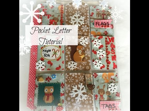 Pocket Letter Tutorial | Winter Woodland Theme