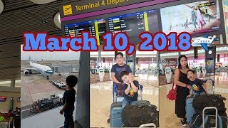 VLOG FLYING BACK TO PINAS + EXPERIENCING NEW TERMINAL 4 IN CHANGI AIRPORT | PINOY IN SINGAPORE