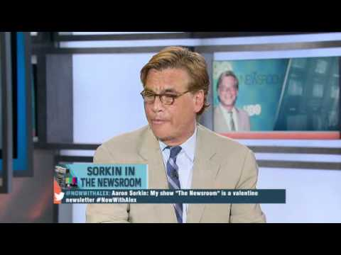 Aaron Sorkin covers The Newsroom.
