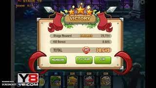 Mighty Knight 2 P6 Defeating Bolt, Toed and Shady in a round