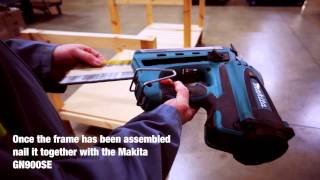 How to Build a Workbench Using Makita Power Tools Part 2 - a Toolstop GUIDE