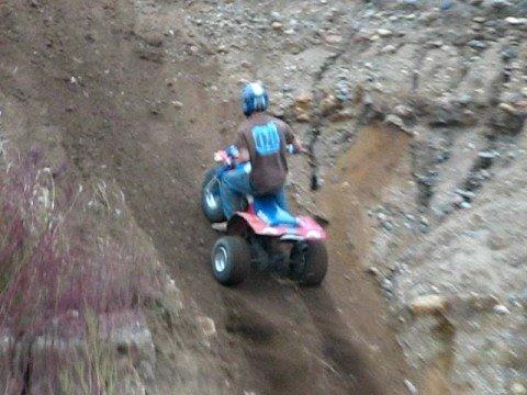 Hill Climbing on a Honda 200x