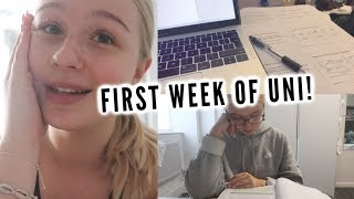 FIRST WEEK OF LECTURES! | uni weekly vlog