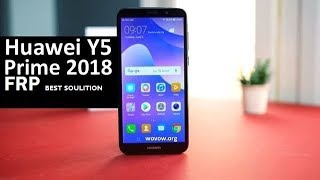 BYPASS GOOGLE HUAWEI Y5 PRIME 2018 تخطي حساب كوكل من
