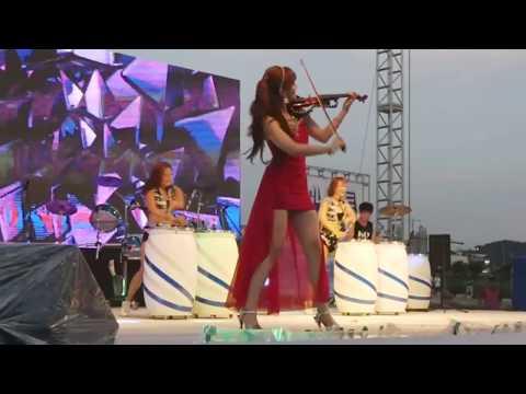 난타공연팀타포스 베토벤바이러스 전자바이올린 콜라보공연영상