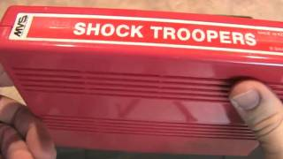 Classic Game Room - SHOCK TROOPERS Neo-Geo MVS review