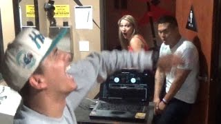 DJ In The BATHROOM PRANK!