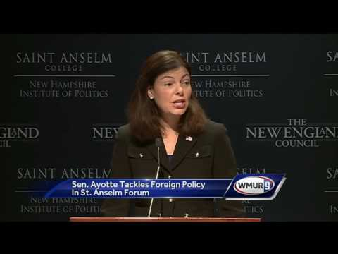 Ayotte speaks on foreign policy in Manchester