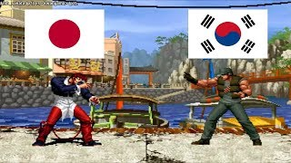 Kof 98 - dash sakata (japan) VS kwanjjama (south korea) Fightcade