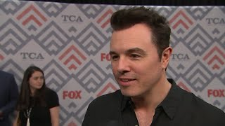 download lagu Seth Macfarlane Thinks Mixing Sci-fi And Comedy Is 'tricky' gratis