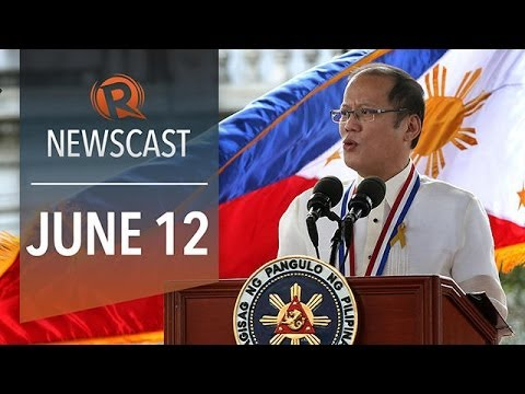 Rappler Newscast: Aquino on Independence Day, Estrada plunder case, Angelina Jolie vs war rape