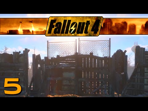 Let's Play Fallout 4 ~ Ep 5 ~ Sanctuary Defence!