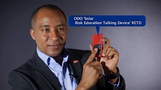 ODO 'Solar Risk Education Talking Device' RETD