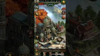 CLASH OF KINGS (COK) TROUBLEMAKER showing how the watchtower and conquest science works
