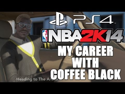 NBA 2k14 PS4 My Career with Coffee Black SG - Road to the Rookie Challenge EP2