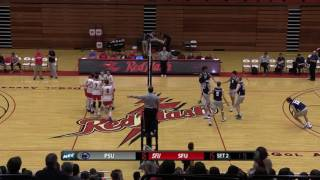 Red Flash Men's Volleyball vs PSU Highlights