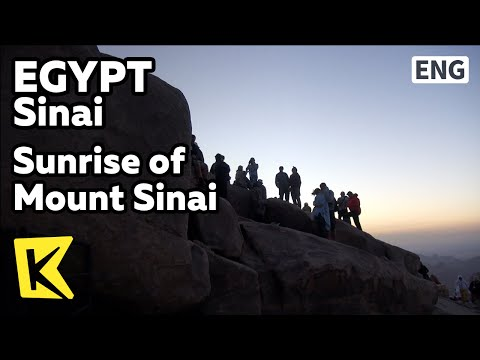 【K】Egypt Travel-Sinai[이집트 여행-시나이]모세교회와 시나이 산의 일출/Mount Sinai/Sunrise/Church/Moses/Ten Commandments