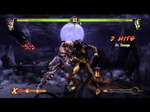 MK9 (TONY-T) SHAO KAHN VS (n-megabytes)  CYRAX