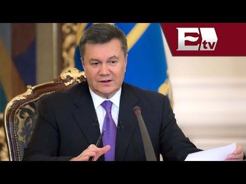 Destituyen a presidente de Ucrania, Viktor Yanukovich  / María Navarro y Julio de la Torre
