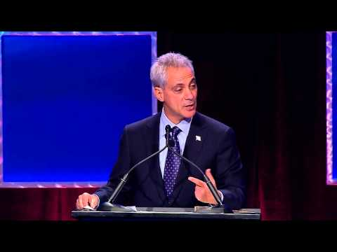 Highlight from Lunch Keynote with Mayor Rahm Emanuel at #EIE13